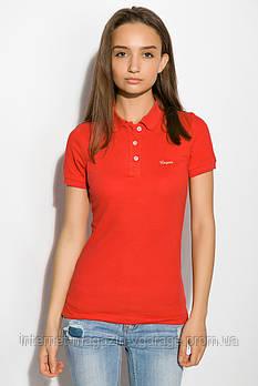 Поло женское 518F006 цвет Красный
