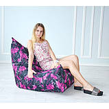 Бескаркасное кресло Вильнюс принт, фото 2