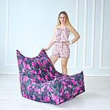 Бескаркасное кресло Вильнюс принт, фото 3