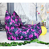 Бескаркасное кресло Вильнюс принт, фото 6