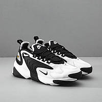 Кроссовки  Nike Zoom 2k Чёрно Белые  /  Найк Зум 2к . Вьетнам.