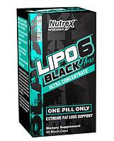 Жиросжигатель USA ORIGINAL! Nutrex Lipo-6 Black Hers Ultra Concentrate 60 кап.