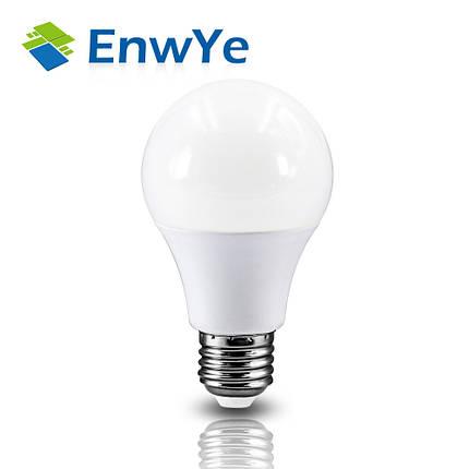 Светодиодная лампочка E27 на 15 Вт (приятный бело-холодный свет), фото 2
