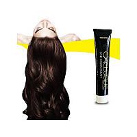 Стойкая крем краска для волос Εxclusive Hair Color Cream (100 мл), Махагон светлый каштан 5.5