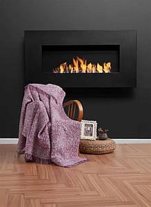 Плед-накидка Eponj Home Buldan Keten - Linen 170*220 mor фиолетовый