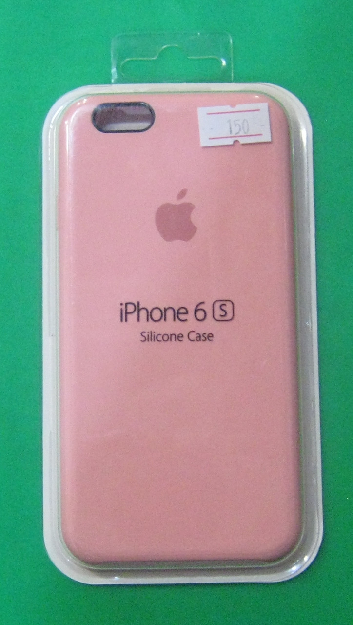 Чехол-бампер для телефона IPhone 6S (светло-розовый)
