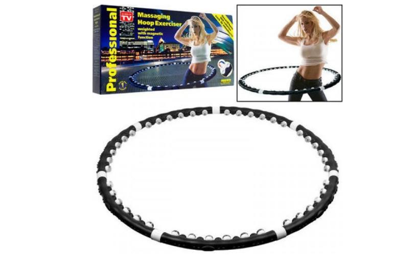 Спортивный обруч-тренажер массажный для похудения Massaging Hoop Exerciser Professional