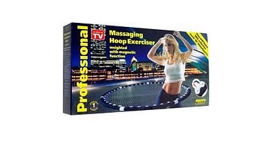 Спортивный обруч-тренажер массажный для похудения Massaging Hoop Exerciser Professional, фото 3