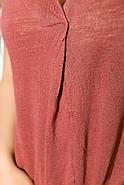 Блуза женская 516F480 цвет Чайная роза, фото 2