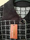 Женский короткий кардиган на пуговицах большого размера., фото 6