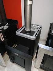 """Банная печь """"Классик"""" с выносной топкой кожух из нержавеющей стали, фото 3"""