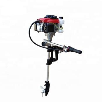 Лодочный мотор в сборе (двигатель с вертикальным валом - 170F)