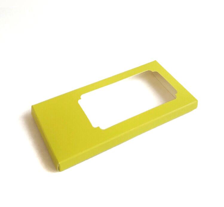 Упаковка для плитки шоколаду Лимонна