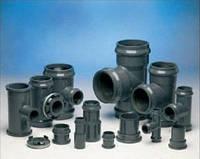 Фитинги НПВХ d 90-630 мм, напорные, для воды и канализации