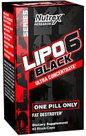 Жиросжигатель USA ORIGINAL!!! Nutrex Lipo-6 Black Ultra Concentrate 60 кап.