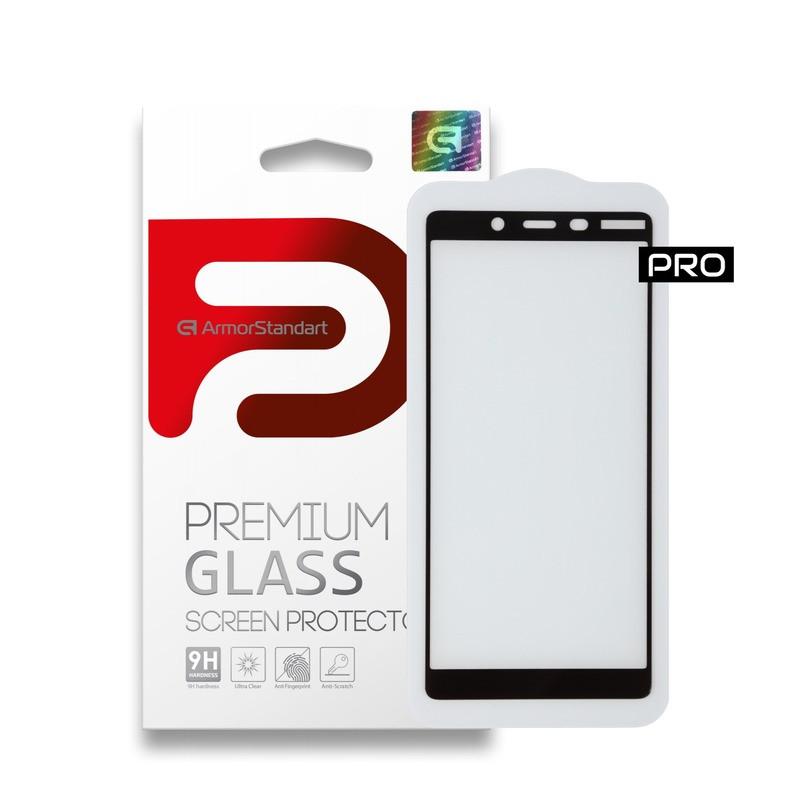 Захисне скло ArmorStandart FG Pro Nokia 1 Plus Black