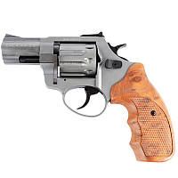 """Револьвер под патрон флобера Stalker (2.5"""", 4.0мм), титан-коричневый"""