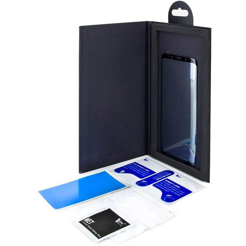 Защитное стекло ADPO 3D CurvedGlass Samsung Galaxy S8 Черное (1283126475870)