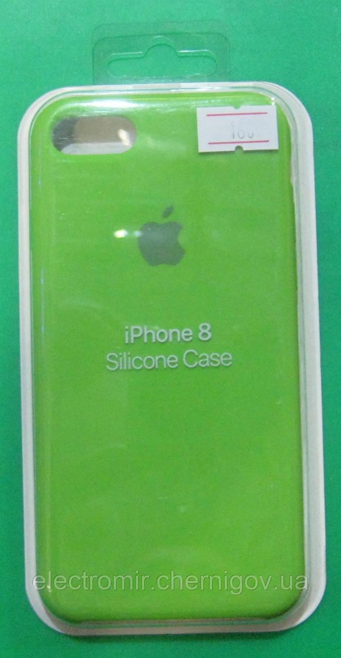 Чехол-бампер для телефона iPhone 8 (зеленый)