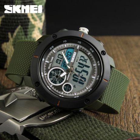 Skmei 1361 зеленые мужские спортивные часы