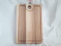 Деревянная разделочная доска 30х20 см. ясень, фото 1