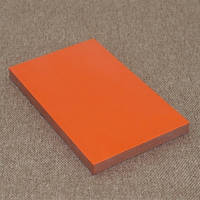 Накладки Микарта  № 92072 Цвет: черно-оранжевый 10х80х130 мм