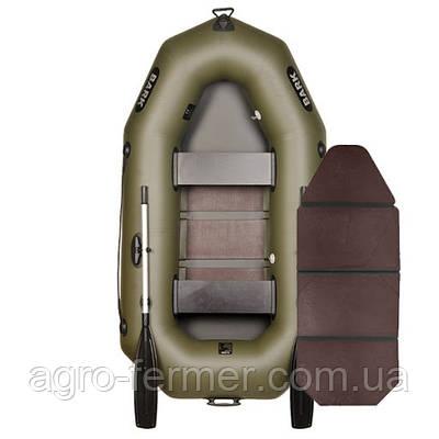 Двухместная надувная гребная лодка Bark-230 книжка