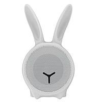 Портативная колонка белая Baseus Q Chinese Zodiac Wireless Rabbit E06