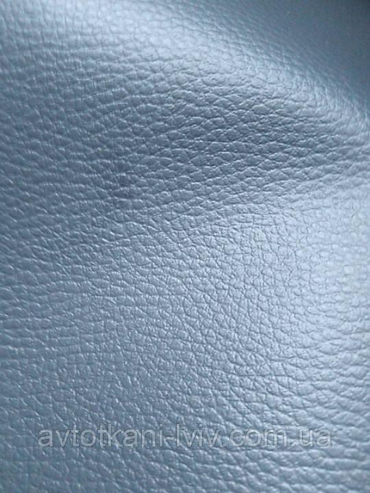 Биэластик, кожзам тягучий серый, для перетяжки салона авто.Толщина материала 1мм.