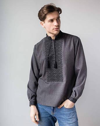 Мужские рубашки с украинской вышивкой, фото 2