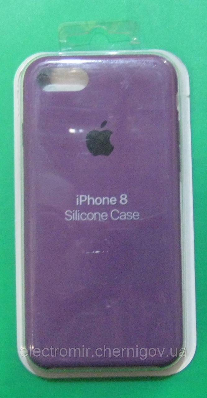 Чехол-бампер для телефона iPhone 8 (фиолетовый)