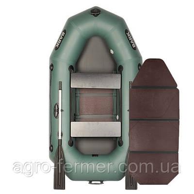 Двухместная надувная гребная лодка Bark-230D книжка
