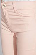Брюки женские №254F006 цвет Персиковый, фото 2