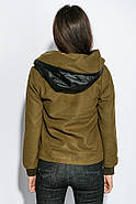 Куртка женская 678K002 цвет Хаки, фото 4