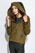 Куртка женская 678K002 цвет Хаки, фото 5