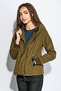 Куртка женская 678K002 цвет Хаки, фото 7