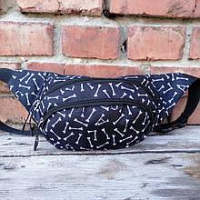 Бананка спинка-сітка, сумка на пояс