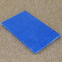 Накладки Микарта  № 92223 Цвет:синий с ткан. текс 4х80х130 мм
