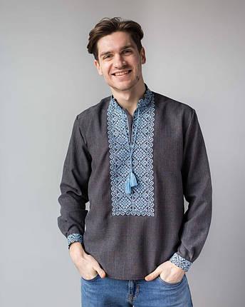 Мужская украинская вышивка с орнаментом, фото 2