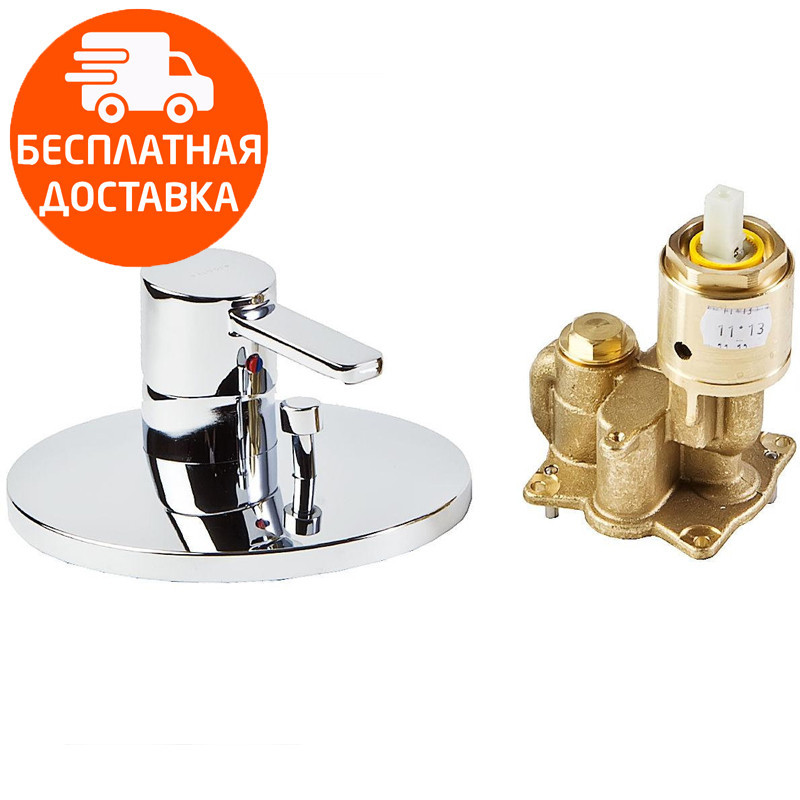 Внешняя часть смесителя для ванны Kludi Zenta 386500575 хром