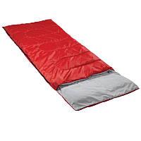 Мешок спальный КЕМПИНГ Rest с подушкой (180+40x75см), красный