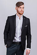 Пиджак №276Y003 цвет Черный, фото 7