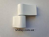 Петля дверная JOCKER 67 мм белая оригинал Польша