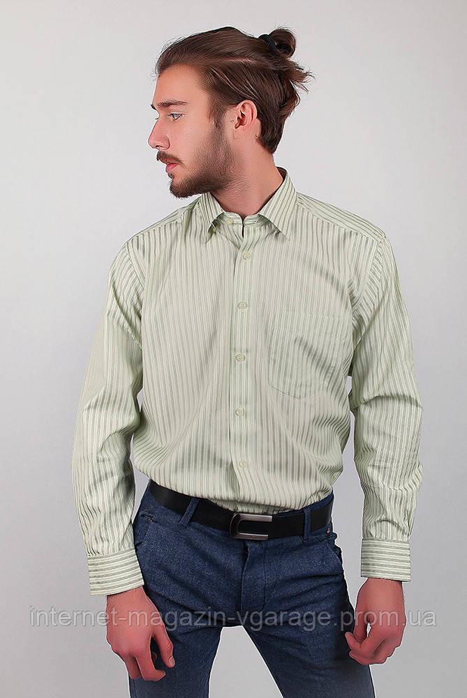 Рубашка Fra №873-2 цвет Светло-оливковый