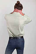 Рубашка Fra №873-2 цвет Светло-оливковый, фото 4