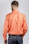 Рубашка Fra №871-16 цвет Апельсиновый, фото 2