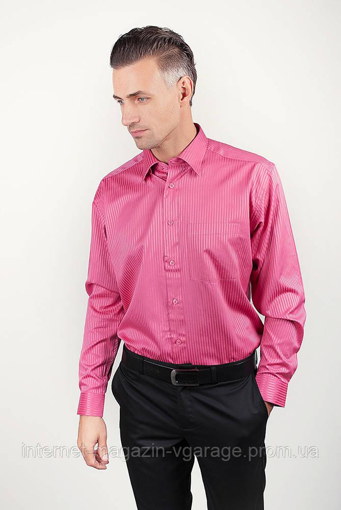 Рубашка Fra №878-29 цвет Темно-розовый
