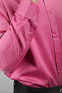 Рубашка Fra №878-29 цвет Темно-розовый, фото 3