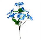 Букетик на 6 головок NС-67 (40 шт./уп.) Искусственные цветы оптом, фото 3