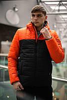 Демисезонная куртка (Чёрный, чёрно-желтый, чёрно-оранжевый)